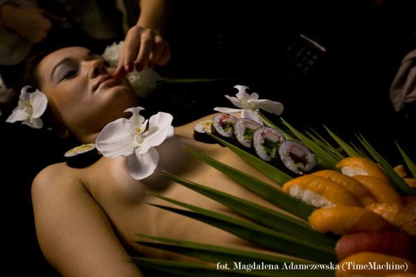 Restauracja GOKO - ceremionia body sushi